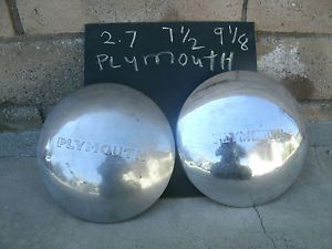 """Plymouth Pickup Hubcaps 9"""" 1948 1947 1946 1942 1941 1940 1939 1938 1937 1936"""