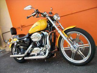 For 04 10 Harley Sportster Engine Guard Highway Crash Bar