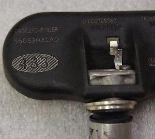 Dodge Chrysler Jeep Factory TPMS Tire Monitor Sensor 56053031AD