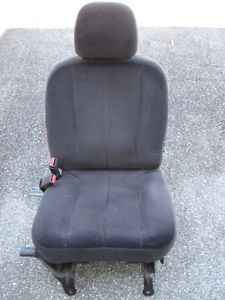 04 Dodge RAM 1500 Pickup Truck Driver Side Front Bucket Seat Interior Gray