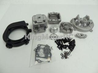 King Motor HP Gas Engine 30 5cc 4 Bolt Big Bore Rebuild Kit HPI Baja CY Rovan