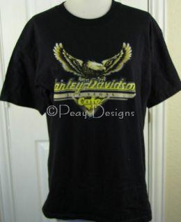 Harley Davidson Cafe Las Vegas Tshirt Sz L
