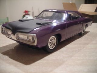 Built Model Car 1970 Dodge Super Bee Nice Mopar