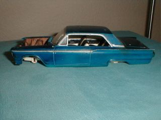 AMT Model Car 1962 Ford Fairlane Junkyard Barn Find 1 25