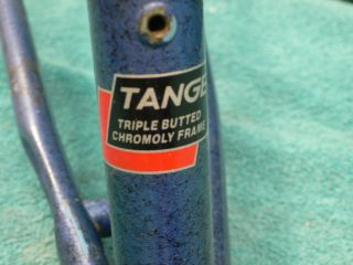 "Very Early ""Univega"" Triple Butted Mountain Bike Frame Forks Bottom Bracket"