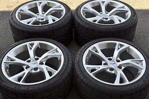 Corvette GCA Torque 2 Wheels Rims Tires Factory Wheels Grand Sport Z06