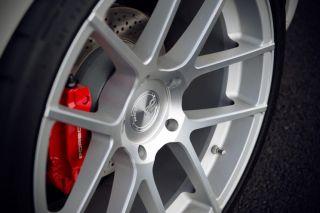 "20"" Avant Garde M510 Wheels Silver Porsche Boxster Cayman s 987 510 Staggered"