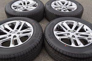 """Ford Explorer 18"""" Chrome Wheels Rims Tires 2011 2012 2013 3859"""
