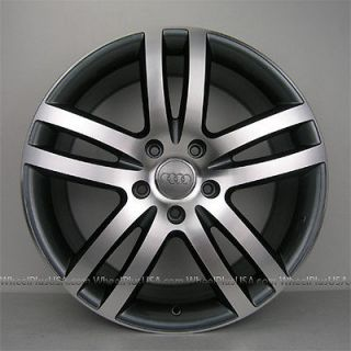 "Set 4 20"" Audi Wheels Rims for Audi Q7 VW Toureg 5x130 Brand New"