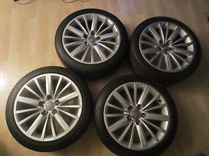 "Audi Wheels 18"" B8 Audi Factory Rims with Tires"