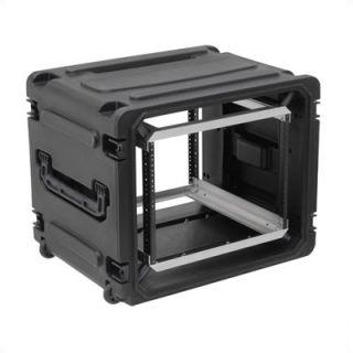 SKB 8U Roto Rolling Shock Rack Case   20 Deep