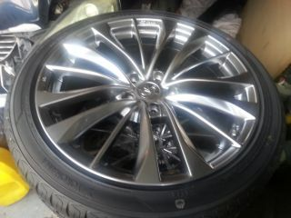 "RARE 2013 Infiniti G37 G37X 19"" Rims w Tires I35 G35 Nissan Wheels Infinity"