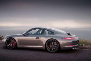 "19"" Ruger Black Staggered Concave Wheels Rims Fits Porsche 911 997 Carrera 4"