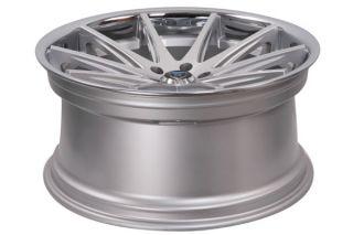 "22"" BMW E65 E66 745 750 760 Rohana RC10 Concave Silver Staggered Wheels Rims"