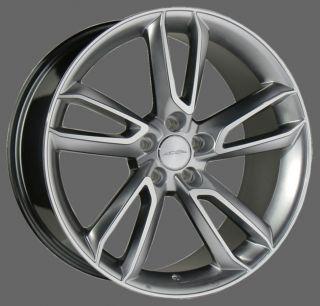"22"" Ace Scorpio Wheels Silver Porsche Cayenne Turbo s GTS TSW VW Touareg TDI V8"