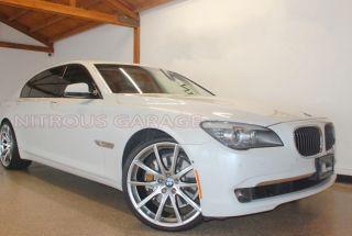 "20"" Ace Convex Wheels Silver BMW 7 Series 740 750 760 B7 F01 F02 Concave"