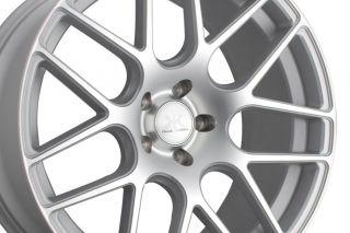 """20"""" Rennen RS7 Silver Concave Wheels Rims Fits BMW E38 740i 740IL 750iL"""