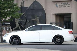 """20"""" Audi B8 S5 Rohana RC20 Matte Black Concave Wheels Rims"""