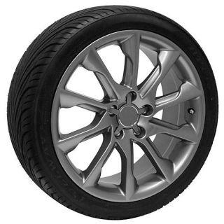 18 inch Gunmetal Audi Wheels Rims Tires Fits A4 S4 A6 S6 A8 S8 TT TTS