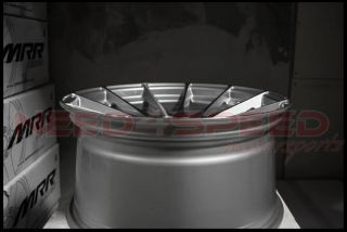"""19"""" Ground Force GF06 GF6 Silver Concave Wheels Rims Fits Lexus IS250 Is350"""