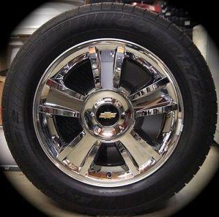 New Chevy Silverado Tahoe Suburban Avalanche Chrome Factory 20 Wheels Rims Tires