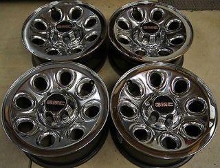 "Chevy Silverado Suburban Tahoe Avalanche GMC Sierra Yukon 17"" Wheels Rims"