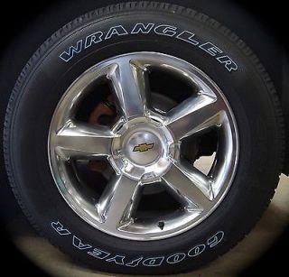 "New Chevy Silverado Tahoe Suburban Avalanche LTZ 20"" Wheels Rims Tires Free SHIP"