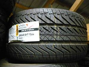 Pair of New Kumho Ecsta ASX KU 21 285 40R17 Tires