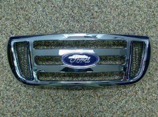 2006 thru 2011 Ranger Genuine Ford Parts Front Chrome Grille Grill New