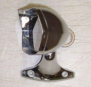 Vintage Chrome Ford Chrysler Chevy Dodge Oval Exterior Mirror Hot Rod Rat Rod