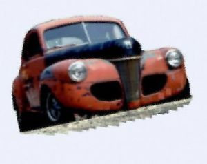 1941 Ford Starlight Coupe Rat Rod Hot Rod Project Car