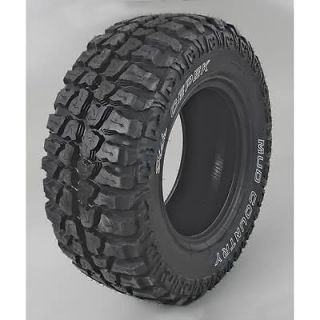 Dick Cepek Mud Country Tire 33 x 12 50 17 Outline White Letters 23274 Set of 4