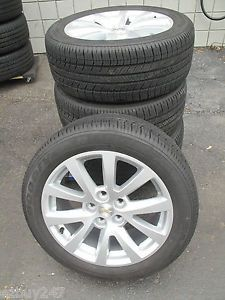 "18"" Chevrolet Malibu Factory Original New Car Takeoff Set Wheels Rims Tires 5561"