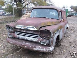 58 59 Chevy Panel Truck Pickup Apache Hood