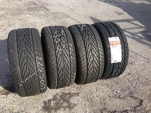 Set of 4 225 50 15 Kumho Ecsta AST Takeoffs with One New Tire to Make The Set