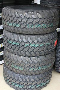 """4 New Lt 33 12 50 17 Pro Comp MT Mud Terrain Tires Made in USA 1250 33"""" Jeep"""