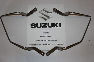 Suzuki Intruder vs 800 1400 Custom Saddlebag Brackets