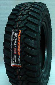 4 New LT285 70R17 Thunderer Mud Tires 285 70 17 Load Range E 10 Ply M T