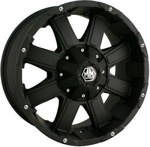 """20"""" Mayhem Chaos 6x135 Rims with 275 60 20 Toyo Open Country at Wheels Tires"""