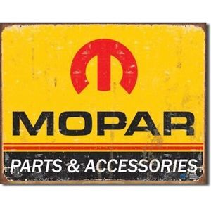 Vintage Auto Truck Mopar Parts Accessories Tin Sign Logo Super Bee 64 71 Dodge