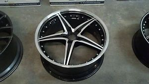 "20"" Enkei LSR L SR 5x112 Black Machined Face Wheel 20x8 5 40mm 2512854440BMF"