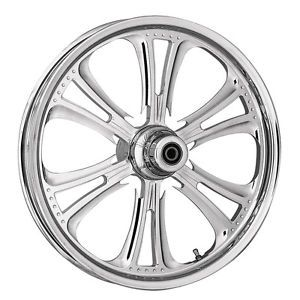 """RC Components Czar Chrome Wheels 21"""" Harley Davidson Touring No ABS 2000 2007"""