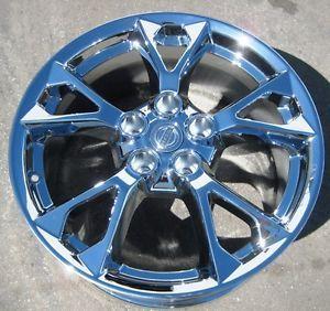 "Exchange Your Stock 4 18"" Factory Nissan Maxima Chrome Wheels Rims 2012 13"