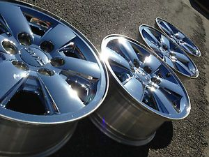 4 2013 GMC 1500 Sierra Yukon Denali Factory 18 Chrome Wheels Rims Caps