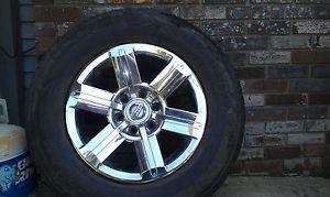 "Set of 4 18"" Nissan Armada Titan Chrome Factory Wheels Rims"