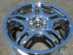 "18"" Mercedes CLK55 AMG Factory Chrome Wheel Replacement or Spare CLK63 CLK55"