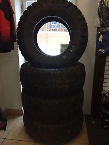 Trxus STS All Terrain Tire Super Swamper 15 39 5 20LT Load Range D 8 Ply Used