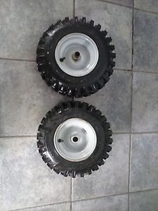 Craftsman Snow Blower Tiller Tires Wheels Rims 13x5 00 6 Tubeless
