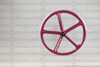 Aerospoke Track Front Wheel Purple Machined 700c
