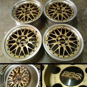 "JDM 17"" BBs LM 5x114 Wheel Rims Nissan 200SX Skyline Supra RX7 RX8 Lexus C3074"